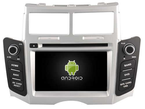 Android 6 0 CAR DVD player navigation FOR TOYOTA YARIS 2005 2011 car audio stereo Multimedia