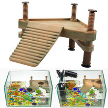 Reptile Turtle Frog Pier Floating Basking Platform Aquarium Turtle Platform Island Aquarium Ornaments Amphibian Leisure Table(China)