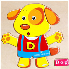 Three-Dimensional Colorful Wooden Puzzle Educational Toys Developmental Baby Toy Child Early Training Game