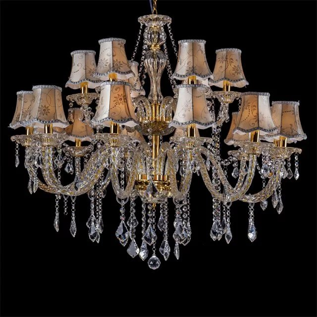 Image result for Candle With Shade Chandelier