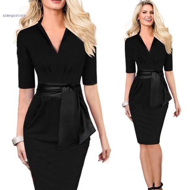 Collar Para Vestido Negro Cuello V Las Mejores Modelos De