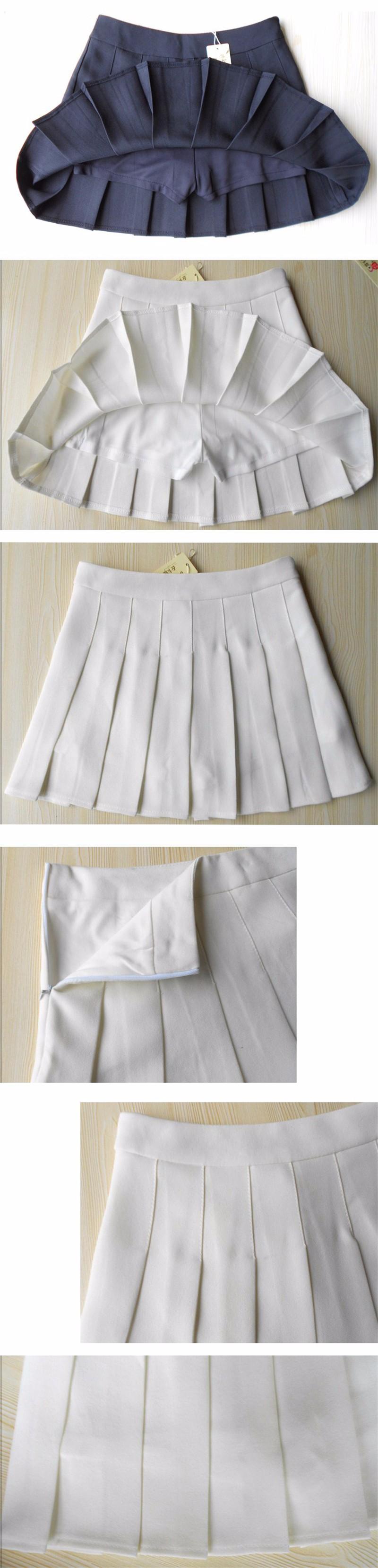 pleated skirt 18