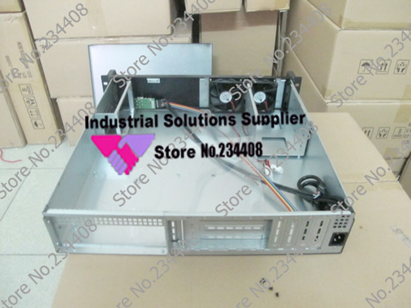 NEW 2u 450 industrial control industrial case Instrument case PC can be full of high power amplifiers PCI card intelligent control of industrial and power systems