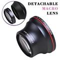 55 мм 0.43x профессиональный HD широкоугольный объектив (w/макрообъектив) для Nikon D3400  D5600 и для камер Sony Alpha