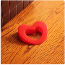 Cartoon Cute Love Shape Silica Gel Door Stopper Baby Safety Supplies Protect Baby Children Kid Safe