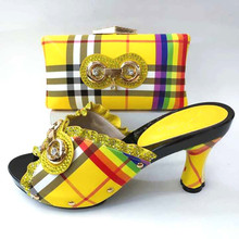 Buy yellow rhinestone shoes and get free shipping on AliExpress.com 1c8dfd74a16d