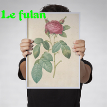 Фотография Full Diamond Embroidery Retro Hand Drawn French Rose Diy Diamond Painting Flower Decoration For Home Hobby Gift For Girl Friend