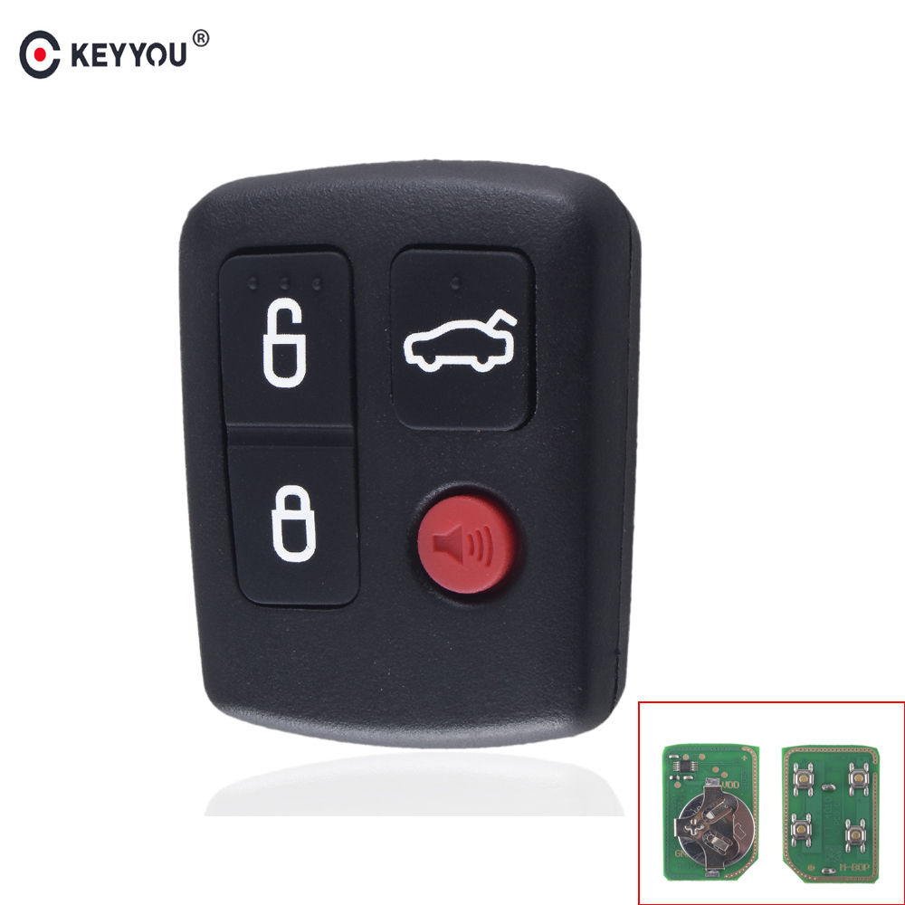 KEYYOU For Ford BA BF Falcon Sedan/Wagon Keyless Car Remote 4 Buttons Keypad Replacement Car Key 433MHZKEYYOU For Ford BA BF Falcon Sedan/Wagon Keyless Car Remote 4 Buttons Keypad Replacement Car Key 433MHZ