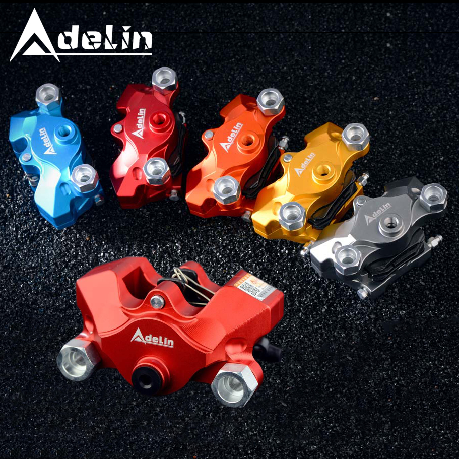 ADELIN-ADL-21 Brake Caliper Motorcycle Brake Pump Disc 2 Piston street bike AVT for Honda Kawasaki Suzuki KTM Vespa Yamaha Brake блуза adl adl ad005ewvpi02