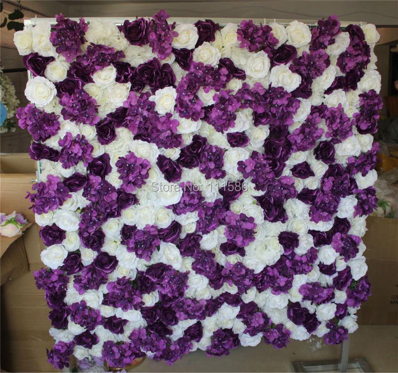 SPR Doprava zdarma mix barva hortenzie růže květ zeď svatební - Pro svátky a večírky