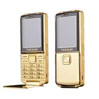 8800i una llave doble antorcha una tecla SOS FM bluetooth velocidad dial whatsapp anciano flip desbloqueado teléfono móvil de metal de alto nivel P210