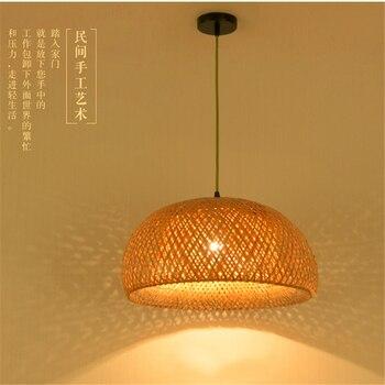ĸ�国風の芸術の創造手織布リビングルームランプの寝室のシャンデリア装飾照明 E27 ǒ�境保護
