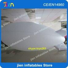 Воздуха белого цвета нет печати надувные гелиевые блимп гелиевые надувные шары blimp дирижабль Zeppelin надувные