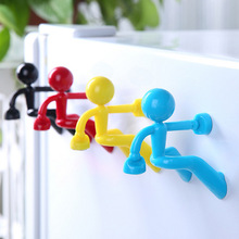 Anti Lost Key Climbing Villain Magnet Key Hanging Climbers Magnetic Magnet Keychain.Keychain  Multipurpose Wall Storage Rack