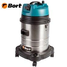 Пылесос Bort BSS-1440-Pro (Мощность 1400 вт, сухая и влажная уборка, вместимость пылесборника 40 л., розетка для инструмента)