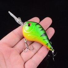 1pcs Crank Fishing Lure Artificial Hard Baits 9.5cm/10.8g Crankbait Jerkbait Wobbler Fishing Tackle Good Treble Hooks Tackle