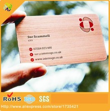 Good Quality Customized Engraved Metal Business Card