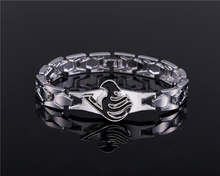 Anime Fairy Tail Jewelry black charm bracelet Cosplay Accessories Metal Bangle