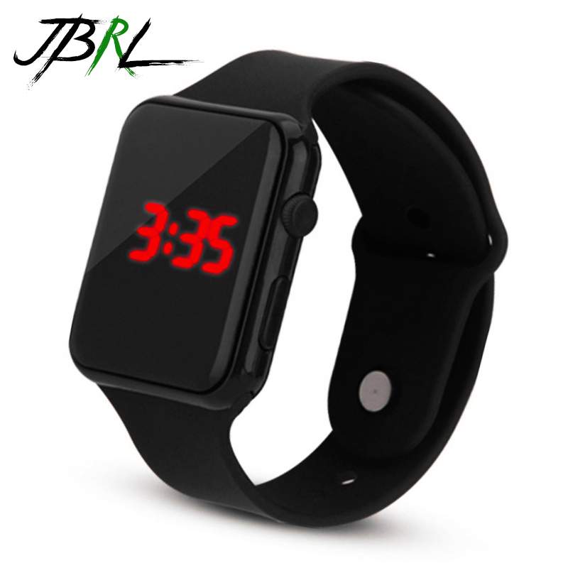 Fashion Silicone Watch Children Kids Watches For Girls Boys Students Electronic LED Digital Wristwatch Child Wrist Clock Hours