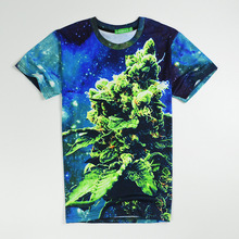 2017 casual Starry sky male hiphop male concert shirt O-neck sweatshirt 3d print women/men cartoon pullover summer Tees T-shirts
