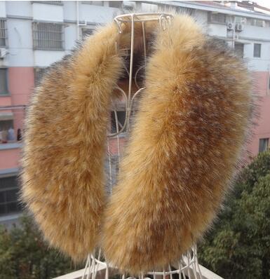 Venda quente! masculina de outono e inverno do falso das mulheres de pele de guaxinim pele de raposa cachecol grande gola de raposa lenço da pele de alta qualidade 105 cm 20 cores