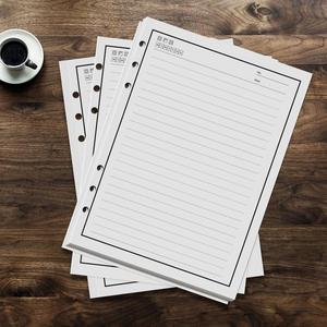 Image 1 - 50 sheets 100 Pages Reusable Notebook Inner Paper Refill compatible with PU A5 Smart Erasable Notebook Pocketbook