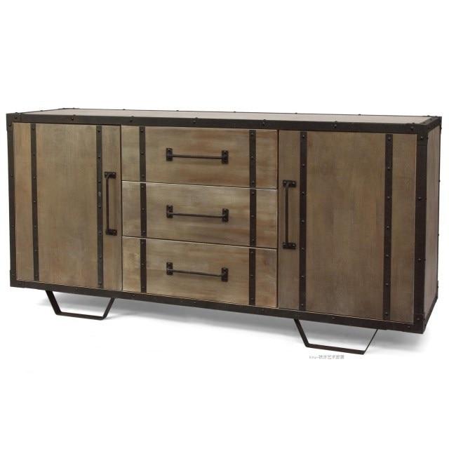 Amerikaanse stijl single export ijzer hout structuur for Ladeblok hout