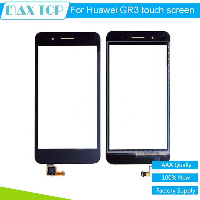 100% probado pantalla táctil de cristal digitalizador para huawei enjoy 5s GR3 TAG-L01 L03 L13 L22 L23 5 pulgadas Negro/Blanco/Oro Libre gratis
