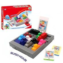 Finger Rock Rush Hour IQ автомобиль 3D головоломка Infantil игрушка головоломка Танграм развивающие IQ игры игрушки Пазлы для детей
