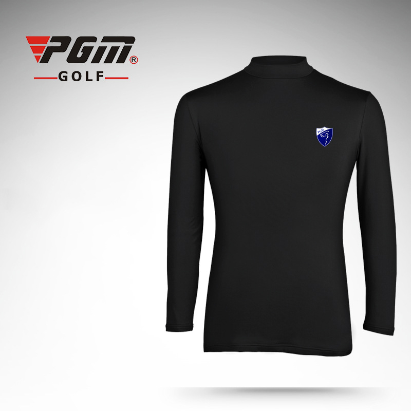 PGM High Quality Golf T-Shirt Men Cotton Keep Warm Sports T-Shirt Long Sleeve Golf Tees Brand Golf Clothing Golf Training Shirts