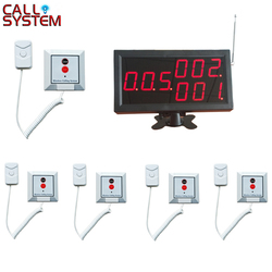 1 display receiver 5pcs patient bed button Clinic Nurse Call Button System
