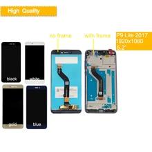 ORIGINAL For Huawei P8 Lite 2017 PRA-LA1 PRA-LX1 PRA-LX3 LCD DIsplay With Touch Screen Digitizer Assembly Frame P9 Lite 2017 LCD все цены