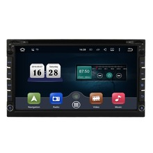 "6.95 "" 2 din Universal Android 5.1 Car DVD GPS Quad-Core TouchScreen 1080P WiFi 3G  In Dash Car Srereo Audio Radio Player DAB+"