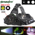 High Quality  5000 Lm CREE XM-L XML T6 LED Headlamp Headlight flashlight head light lamp 18650