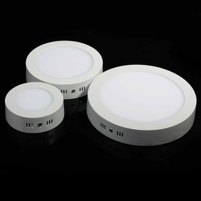 9W 15W 25W Surface mounted led downlight Round panel light SMD Ultra thin circle ceiling Down lamp kitchen