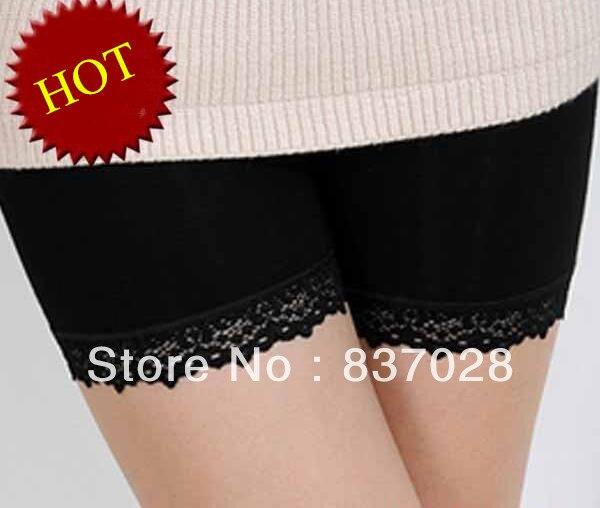 Nové 2014 horké bambusové vlákno krajky-třetí dámské spodní prádlo kalhoty proti vyprázdněným kalhotám dámské spodní prádlo Security 86420