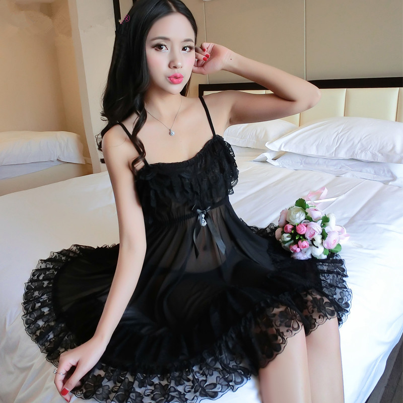 Women   nightgowns   Sexy Satin Summer Sexy Silk   Nightgown     Sleepshirts   Sleepwear Lounge Casual Satin Silky Nightwear Female Dress