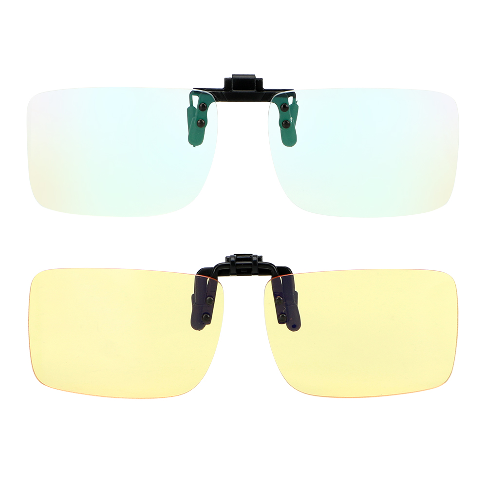 LEEPEE Motorcycle Glasses Clip On Glasses Motocross Bike Goggles Blue Light Blocking Outdoor Sports Riding Sunglasses