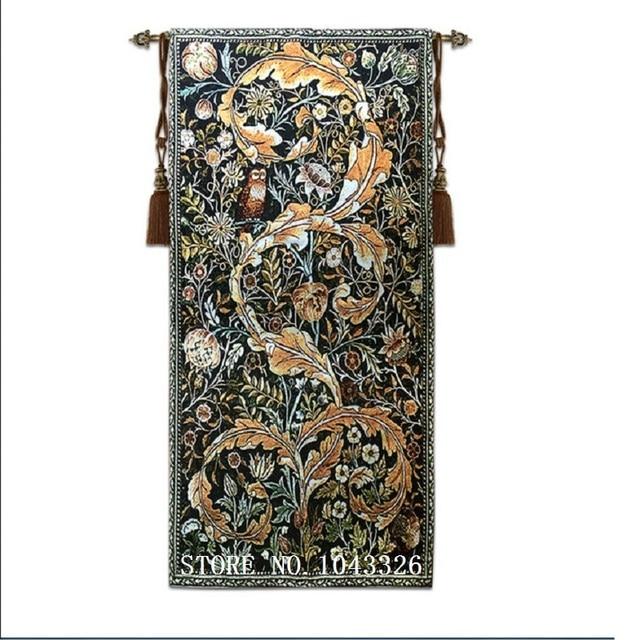 58*114cm Living Room Bedroom Wallpaper Decorative Painting William Morris Series Owl Wall Carpet Hanging  sc 1 st  AliExpress.com & 58*114cm Living Room Bedroom Wallpaper Decorative Painting William ...