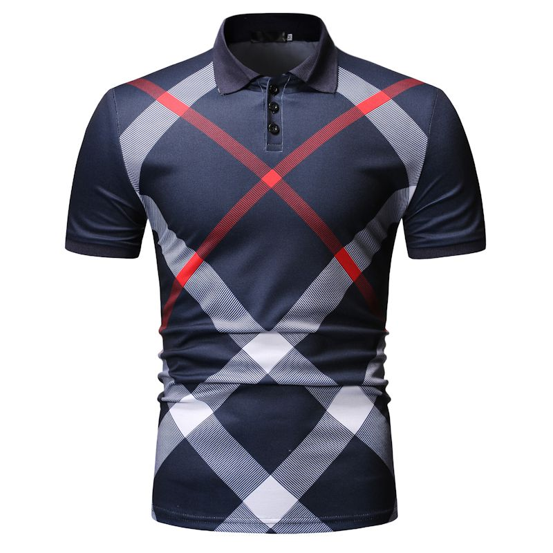 Men   Polo   Shirt 2019 Summer New Arrival Mens   Polo   Shirts Casual Slim Fit Short Sleeve Clothes