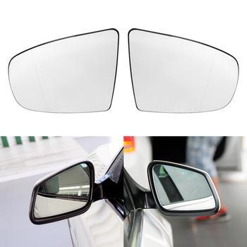 VODOOL 2 шт автомобилей левый и правый двери крыла Зеркало Стекло с подогревом заднего вида зеркала, стекло для BMW X6 E71 E72 08-14X5 E70 E70 LCI 07-13