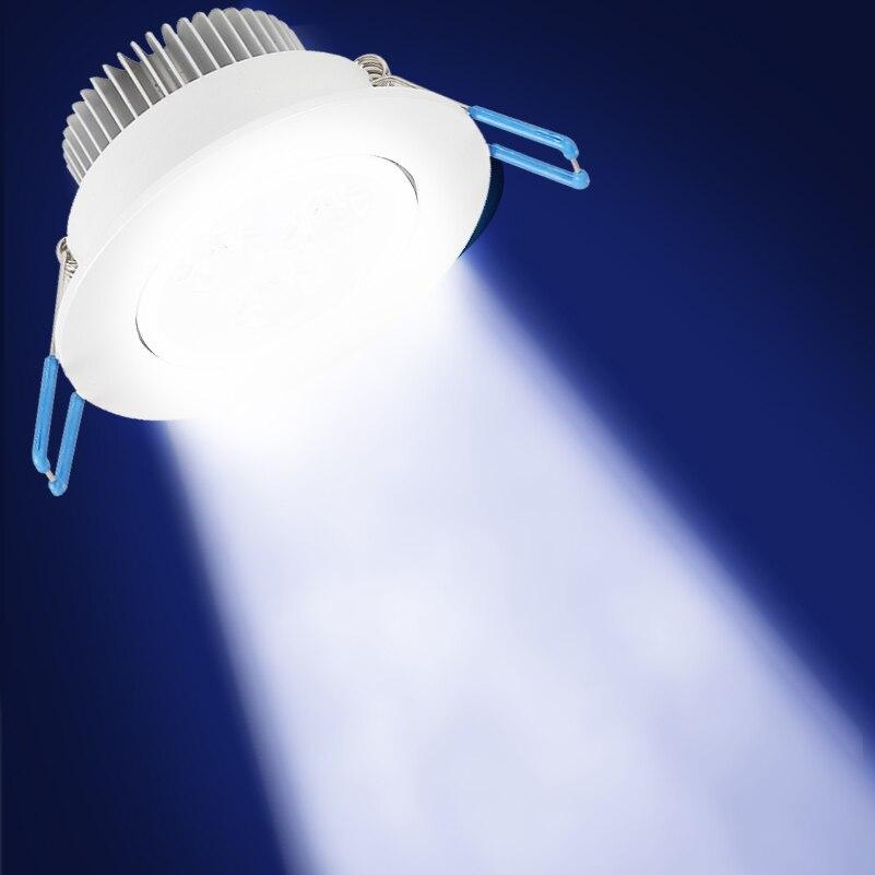 Lámpara de techo LED regulable Foco empotrable 9/12 / 15W Blanco - Iluminación LED