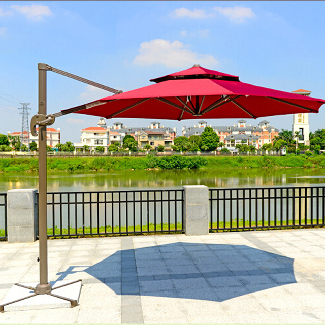 balcony patio umbrella booth beach security large outdoor gazebo Balcony Umbrella