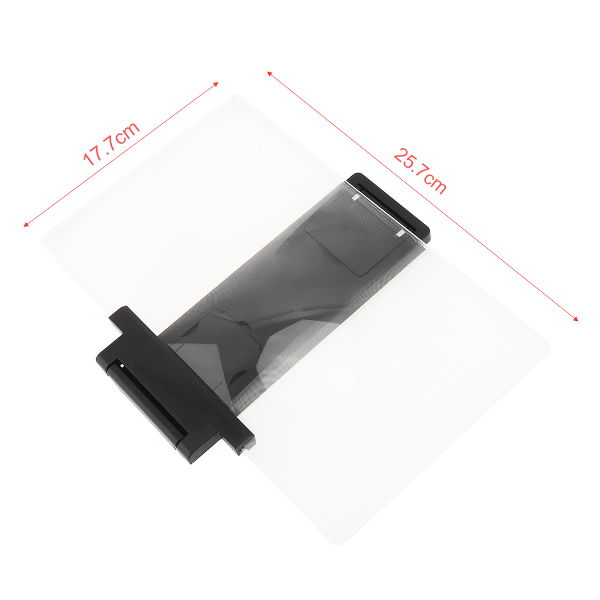 3X 12 Inch 2 Colors Portable  PMMA + ABS 3D Video Mobile Phone Screen Magnifier with Bracket