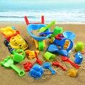Criança Grande Ampulheta Pá Balde Ssand Ferramentas Conjunto Grande Brinquedo Praia Do Bebê