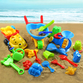Niño Grande de reloj de Arena Pala Cubo Ssand Herramientas Bebé Conjunto de Juguete de Playa Grande