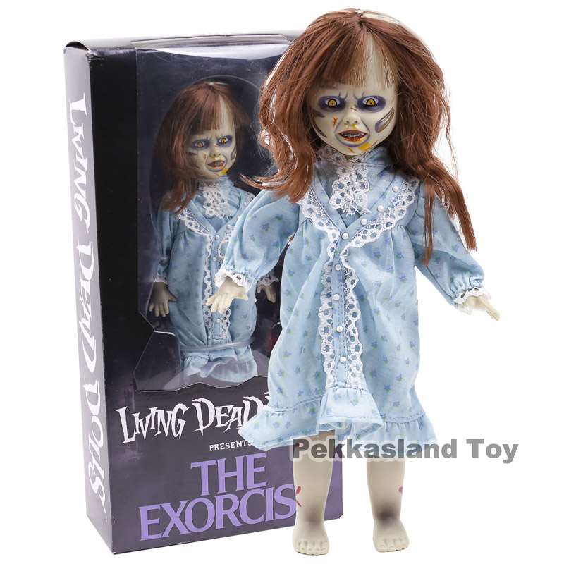 Mezco Toys Living Dead Dolls LDD Presents The Exorcist PVC Action Figure Collectible Model ToyMezco Toys Living Dead Dolls LDD Presents The Exorcist PVC Action Figure Collectible Model Toy