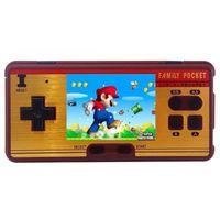 Мини ретро портативный Ручные игры семья карман встроенный 638 8 бит видео консоли прочный Best подарок