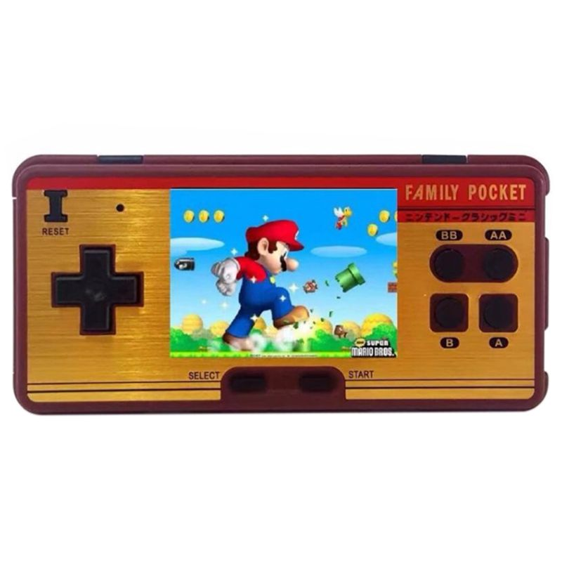 Mini Retro Portable Handheld Game Player Family Pocket Built in 638 Games 8 Bit Portable Video Console Durable Best Gift цена 2017
