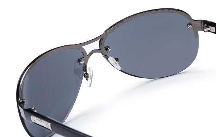 Laura Fairy 2015 Men Frog Mirror Sunglasses UV400 Gradient Flier Sun Glasses Metal Frame Oculos De Sol Masculino